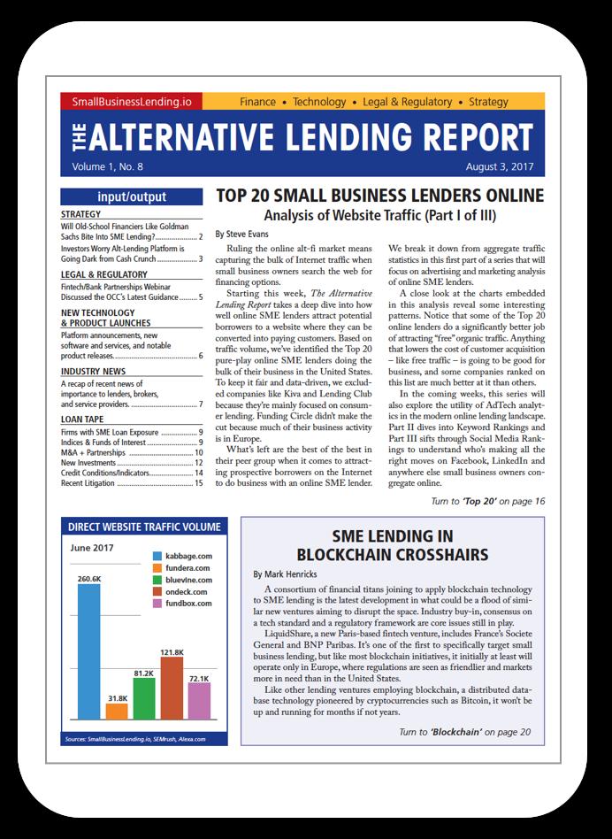 The Alternative Lending Report